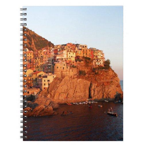 Cinque Terre, Italy Note Book