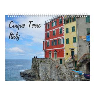 Cinque Terre, Italy Photo Calendar