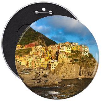 Cinque Terre, Italy Pinback Button