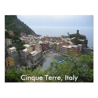 Cinque Terre, Italy Postcard