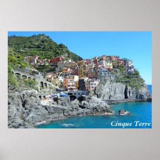 Cinque Terre, Italy Posters
