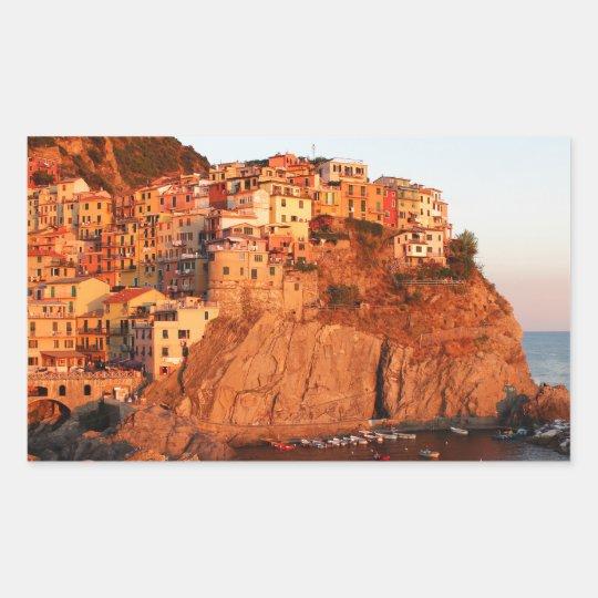 Cinque Terre, Italy Rectangular Sticker