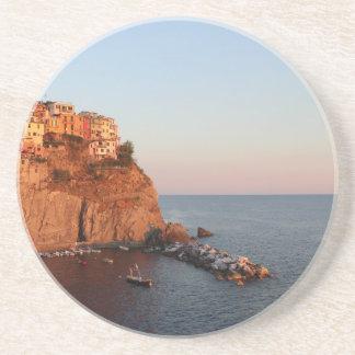 Cinque Terre, Italy Sandstone Coaster