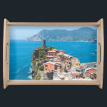 "Cinque Terre Italy Serving Tray<br><div class=""desc"">Cinque Terre Italy on the Italian Riviera</div>"