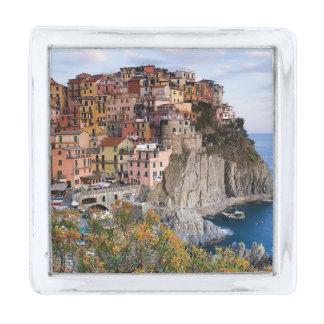 Cinque Terre, Italy Silver Finish Lapel Pin