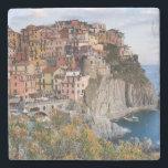 "Cinque Terre, Italy Stone Coaster<br><div class=""desc"">Cinque Terre,  Italy.</div>"