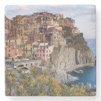 Cinque Terre, Italy Stone Coaster