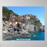 Cinque Terre, Liguria, Italia Poster