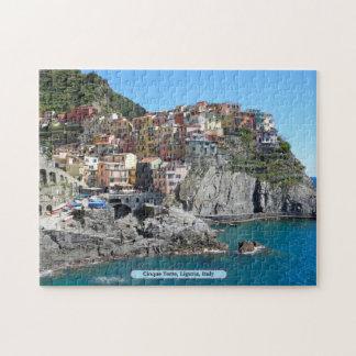 Cinque Terre, Liguria, Italia Rompecabezas