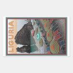 Cinque Terre - Liguria Rectangular Sticker