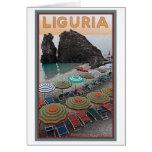 Cinque Terre - Liguria Tarjeta De Felicitación