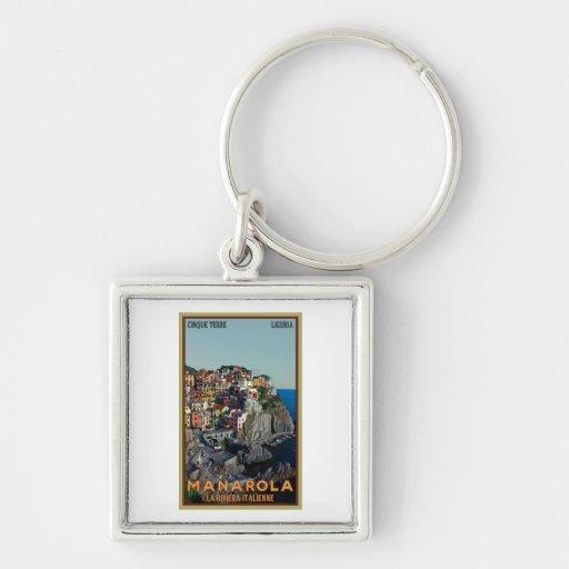 Cinque Terre - Manarola Key Chain