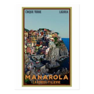 Cinque Terre - Manarola Postcard