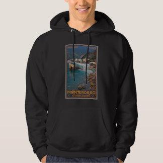 Cinque Terre - Morning Monterosso Beach Sweatshirts