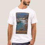 Cinque Terre - Morning Monterosso Beach T-Shirt