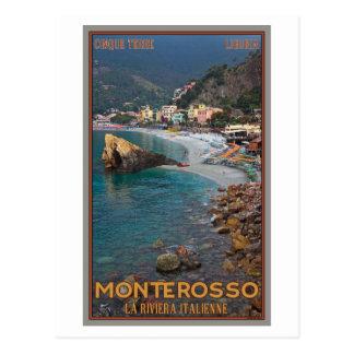 Cinque Terre - playa de Monterosso de la mañana Postales
