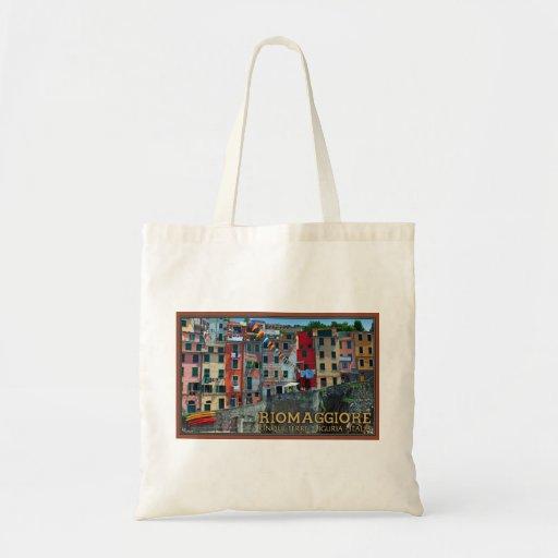 Cinque Terre - Riomaggiore Houses Bag