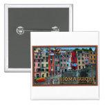 Cinque Terre - Riomaggiore Houses Buttons