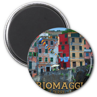 Cinque Terre - Riomaggiore Houses Refrigerator Magnets