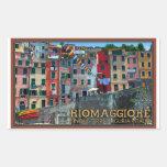 Cinque Terre - Riomaggiore Houses Stickers