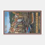 Cinque Terre - Riomaggiore Rectangular Pegatina