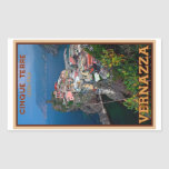 Cinque Terre - Vernazza desde arriba Rectangular Altavoces