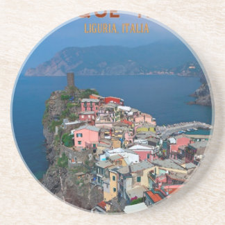 Cinque Terre - Vernazza from Above Drink Coasters