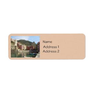 Cinque Terre (Vernazza Harbor) Label
