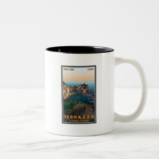 Cinque Terre - Vernazza Two-Tone Coffee Mug