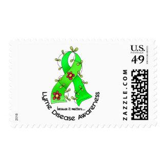 Cinta 1 de la flor de la enfermedad de Lyme Franqueo