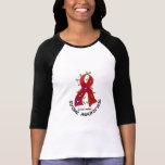 CINTA 1 de la FLOR del movimiento Camisetas