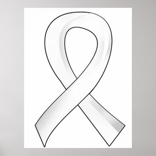 Cinta 3 de la perla del cáncer de pulmón poster