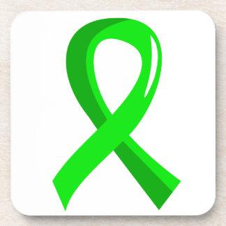 Cinta 3 de la verde lima de la distrofia muscular posavaso