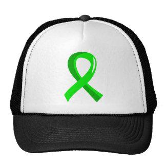 Cinta 3 de la verde lima del linfoma Non-Hodgkin Gorro