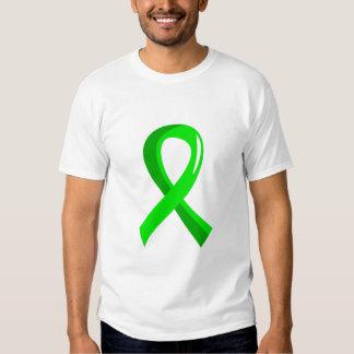Cinta 3 de la verde lima del linfoma Non-Hodgkin Poleras