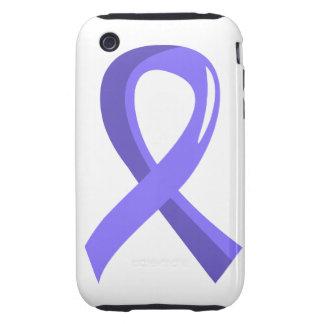 Cinta 3 del bígaro del cáncer de estómago iPhone 3 tough protector