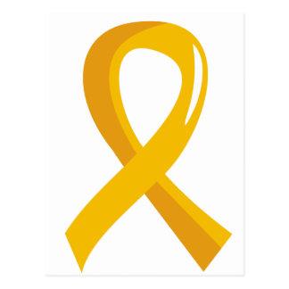 Cinta 3 del oro de Neuroblastoma Tarjetas Postales