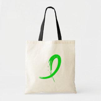 Cinta A4 de la verde lima de la distrofia muscular Bolsas