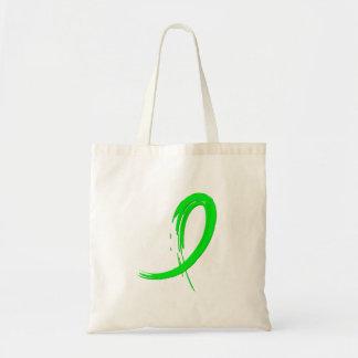Cinta A4 de la verde lima de la distrofia muscular Bolsa