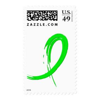 Cinta A4 de la verde lima del linfoma Non-Hodgkin Sello