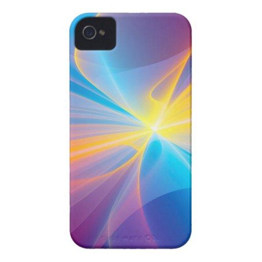 Cinta abstracta del flujo iPhone 4 Case-Mate cobertura