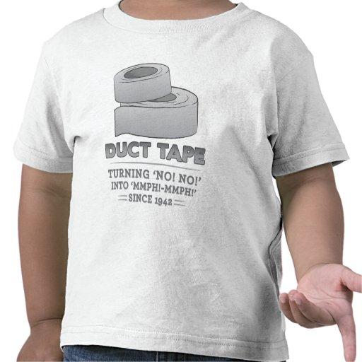 ¡cinta aislante - dando vuelta no! ¡no! ¡en mmph! camiseta