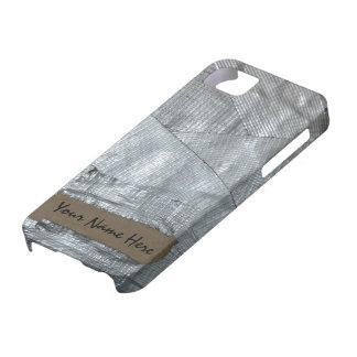 Cinta aislante y etiqueta rasgada de la cartulina iPhone 5 Case-Mate carcasas