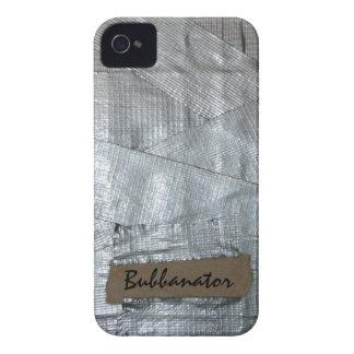 Cinta aislante y etiqueta rasgada de la cartulina iPhone 4 carcasas