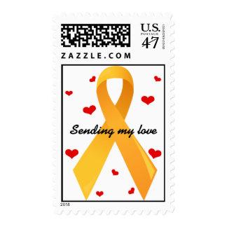 Cinta amarilla: Blanco Sello