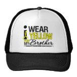Cinta amarilla del desgaste del sarcoma I para mi  Gorro