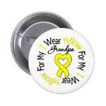 Cinta amarilla del desgaste del sarcoma I para mi  Pin