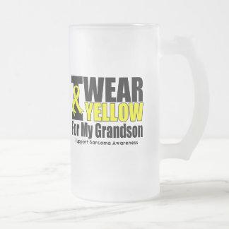 Cinta amarilla del desgaste del sarcoma I para MyG Tazas