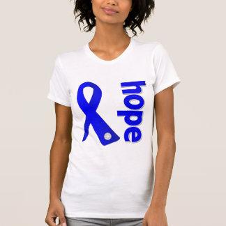 Cinta anal de la esperanza del cáncer camisetas