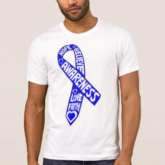 Cinta anal de los lemas del cáncer camiseta